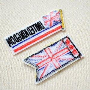 画像3: ワッペン イギリス国旗 フラッグ