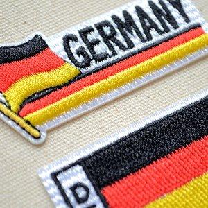画像2: ワッペン ドイツ国旗 フラッグ