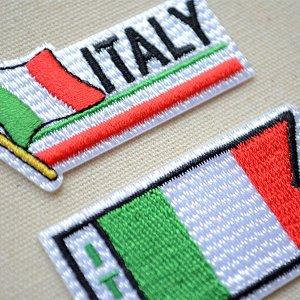 画像2: ワッペン イタリア国旗 フラッグ