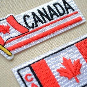 画像2: ワッペン カナダ国旗 フラッグ