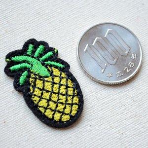 画像2: ワッペン パイナップルS