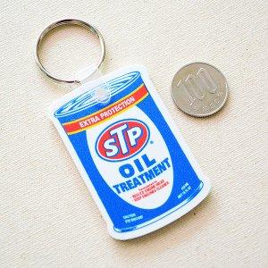 画像3: ラバーキーチェーン STP(オイル缶)
