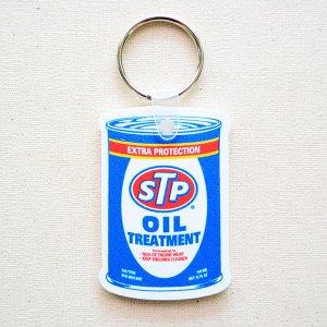画像1: ラバーキーチェーン STP(オイル缶)