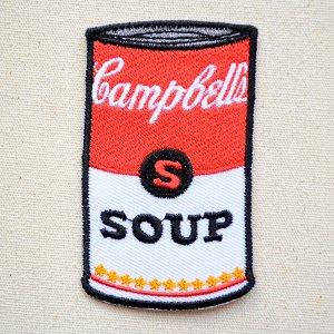 画像1: ロゴワッペン キャンベルスープ缶 Campbell's Soup