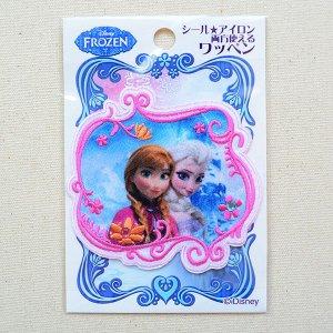 画像4: シールワッペン ディズニー アナと雪の女王(アナ&エルサ)