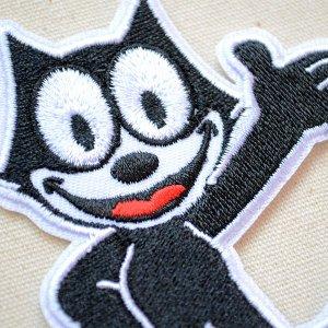 画像2: ワッペン フィリックスザキャット Felix The Cat(グリート)