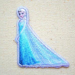 画像1: シールワッペン アナと雪の女王(エルサ)
