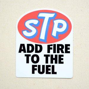 画像1: ステッカー/シール STP AOD FIRE