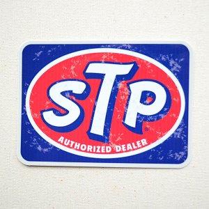 画像1: ステッカー/シール STP LOGO OLD 02