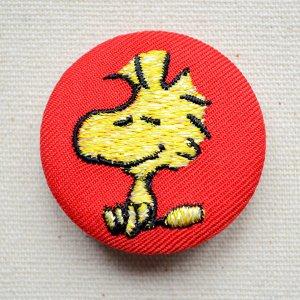 画像1: 刺繍ブローチ スヌーピー(ウッドストック) PEANUTS/ピーナッツ
