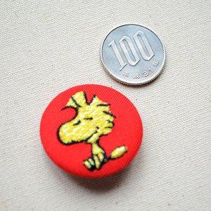 画像2: 刺繍ブローチ スヌーピー(ウッドストック) PEANUTS/ピーナッツ