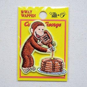 画像4: ワッペン おさるのジョージ パンケーキS