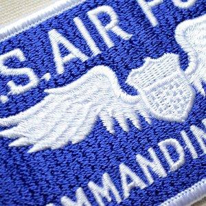 画像2: ミリタリーワッペン U.S.Air Force エアフォース コマンディングオフィサー アメリカ空軍