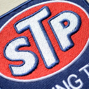 画像2: ワッペン STP RACING TEAM オイル アメリカ