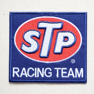 画像1: ワッペン STP RACING TEAM オイル アメリカ