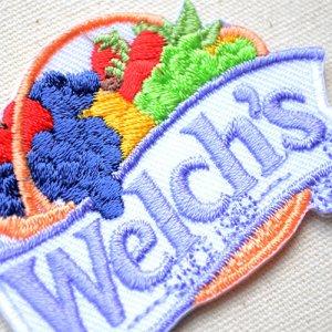 画像2: ワッペン ウェルチ Welch's