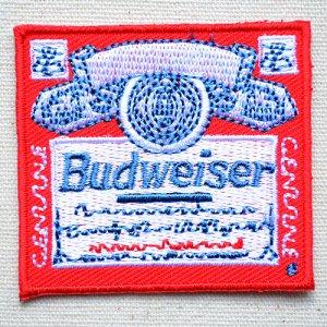 画像1: ワッペン バドワイザー Budweiser