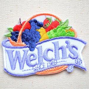 画像1: ワッペン ウェルチ Welch's
