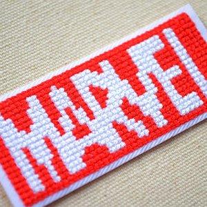 画像2: ワッペン マーベル ピクセル ロゴ