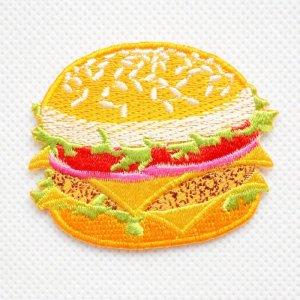 画像1: ワッペン チーズバーガー