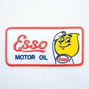 画像1: ワッペン Esso モーターオイル
