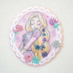 画像1: ワッペン プリンセス チャーミング ディズニー(ラプンツェル)