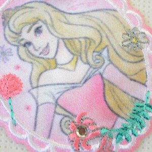 画像2: ワッペン プリンセス チャーミング ディズニー(オーロラ)