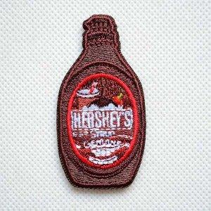 画像1: ワッペン ハーシーズ Hershey's チョコレートシロップ