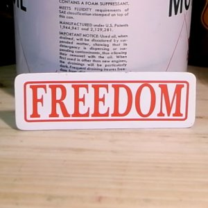 画像1: ステッカー   FREEDOM