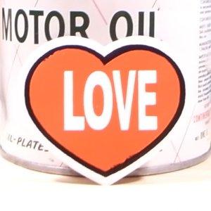 画像1: シンボルステッカー Heart(Love) ハート ラブ