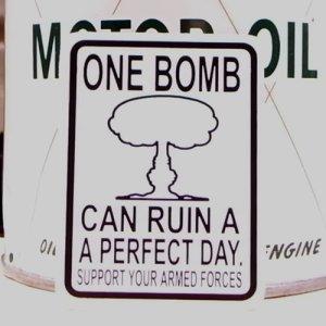 画像1: ステッカー/シール ONE BOMB