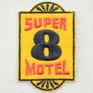 画像1: ロゴワッペン Super 8 Motel スーパーエイトモーテル