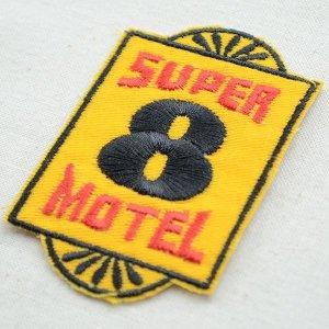 画像2: ロゴワッペン Super 8 Motel スーパーエイトモーテル
