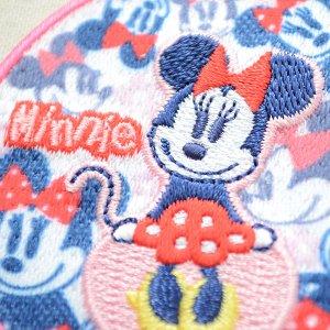 画像2: ワッペン ディズニー ミニーマウス(ラウンド)