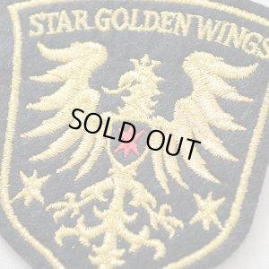 画像2: エンブレムワッペン Star Golden Wings スターゴールデンウィングス