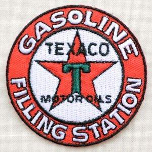 画像1: ロゴワッペン Texaco テキサコ モーターオイル