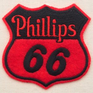 画像1: ロゴワッペン フィリップス66 Phillips66