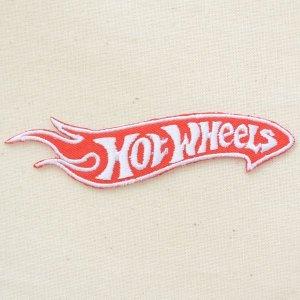 画像1: ロゴワッペン ホットウィール Hot Wheels(ダイカット)