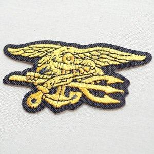 画像2: ミリタリーワッペン Navy SEALs ネイビーシールズ アメリカ海軍特殊部隊