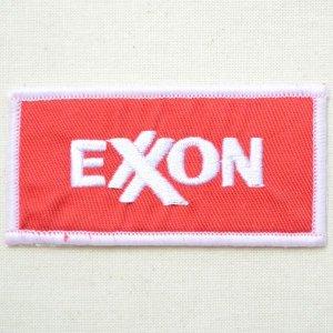 画像1: ロゴワッペン エクソンモービル Exxon Mobil(オイル)