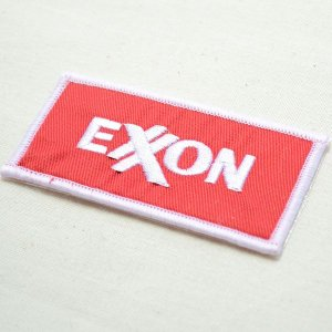 画像2: ロゴワッペン エクソンモービル Exxon Mobil(オイル)