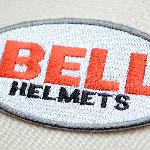 画像2: ロゴワッペン ベルヘルメット Bell Helmets(糊なし)