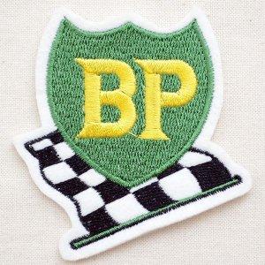 画像1: ロゴワッペン BP ビーピーオイル