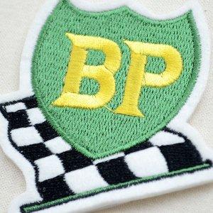 画像2: ロゴワッペン BP ビーピーオイル