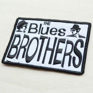 画像2: 音楽ワッペン The Blues Brothers ブルースブラザーズ