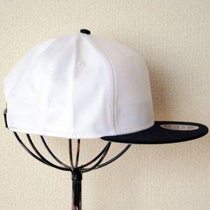 画像3: 帽子/キャップ オットー Otto フラットバイザー コットンツイル(ブラック×ホワイト) *メール便不可