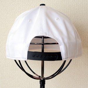 画像4: 帽子/キャップ オットー Otto フラットバイザー コットンツイル(ブラック×ホワイト) *メール便不可