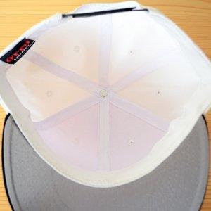 画像5: 帽子/キャップ オットー Otto フラットバイザー コットンツイル(ブラック×ホワイト) *メール便不可