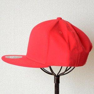 画像5: 帽子/キャップ オットー Otto フラットバイザー コットンツイル(レッド) *メール便不可