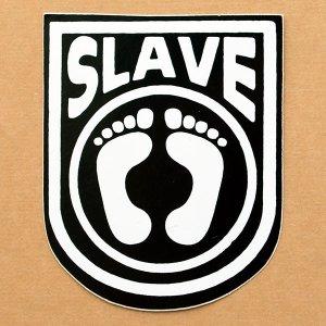 画像1: ステッカー/シール スレイブ Slave